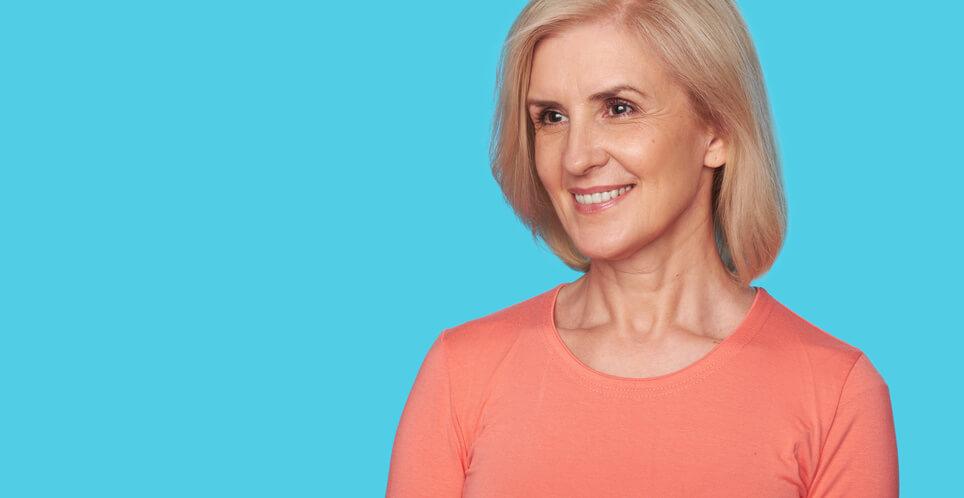 Ältere Frau über 60 sucht nach der besten Dating-Site