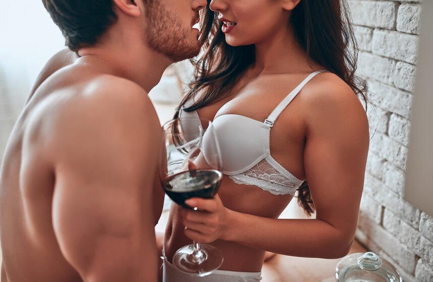 Sexy Paar hat eine Affäre