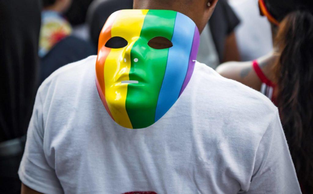 Gay-Pride Maske