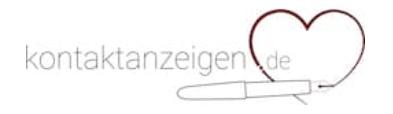 Kontaktanzeigen de Logo