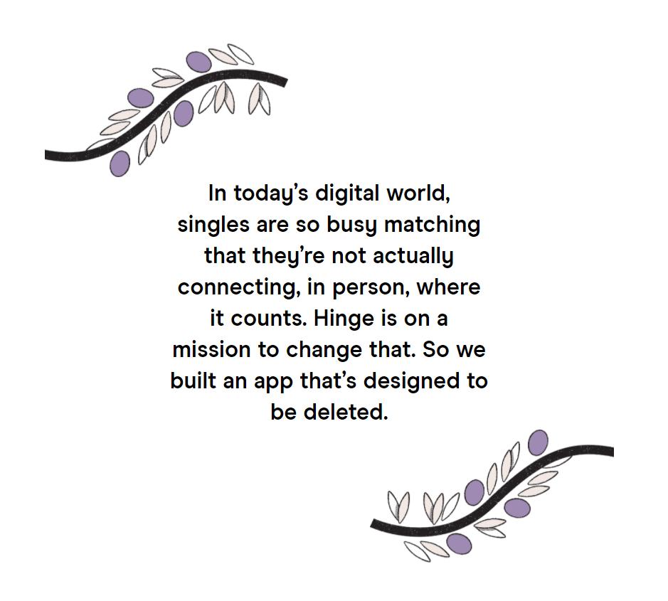 Zitat von der Hinge Webseite